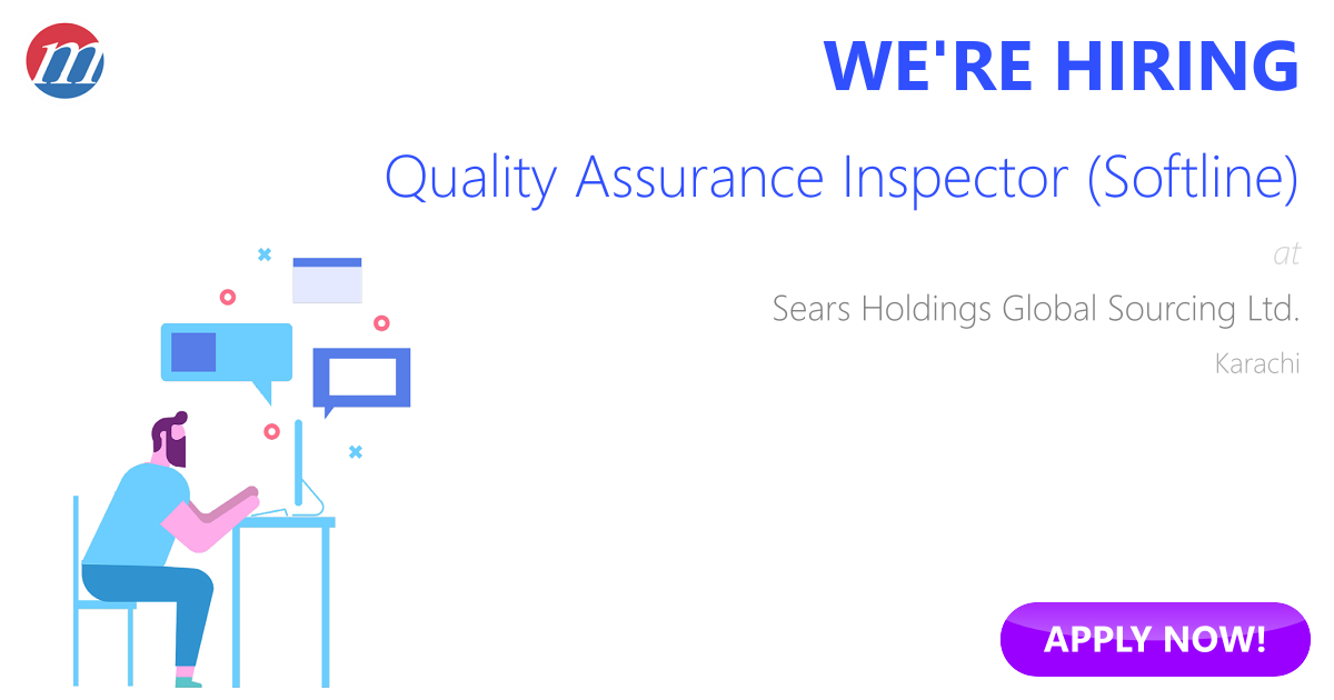 Quality Assurance Inspector Softline Job In Pakistan Sears